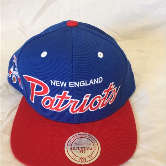 Authentic Mitchell   Ness New England Patriots Hat 290018d81