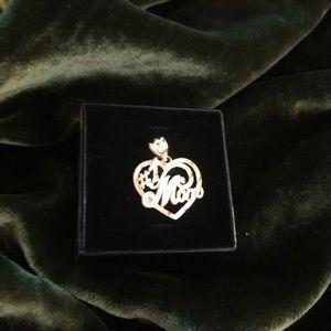 Jewelry - 💎14k💎#1 MOM CHARM