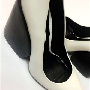 Zara Shoes - Zara white heels