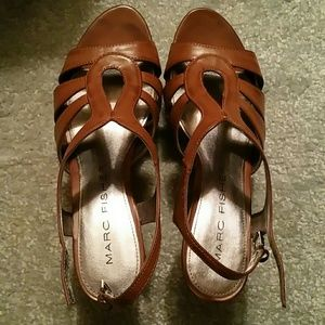 Wedge sandals / shoes