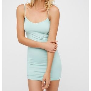 SaleFree People Seamless Bodycon XS Teal