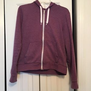 H&M Jackets & Blazers - H&M magenta pink zip up hoodie
