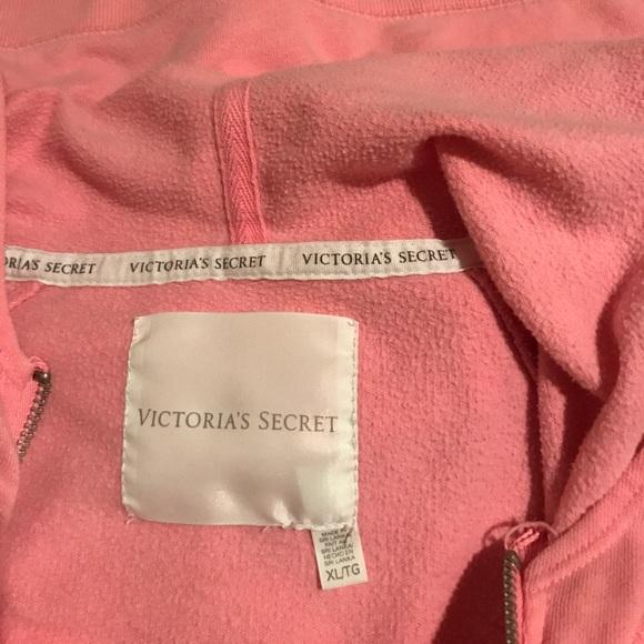 Victoria Secret Pink Hoodies Xl 58