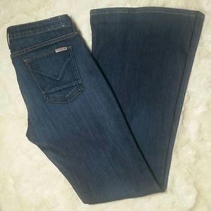 Hudson Jeans Denim - Hudson Mia Wide Leg Flare Jeans Size 30
