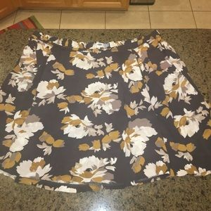 Floral skirt from old navy
