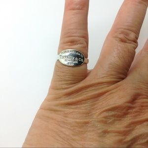 Tiffany & Co. Jewelry - Please Return to Tiffany Sterling silver ring