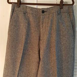 Men's J.Crew black and gray dress pants, sz 33/32