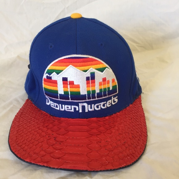 Mitchell   Ness Denver Nuggets Snakeskin Hat 179a92ad0d39