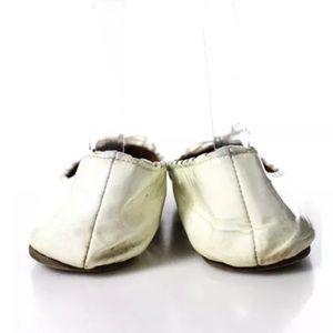 Alaia Shoes - Alaïa round-toe ballet flats size 7