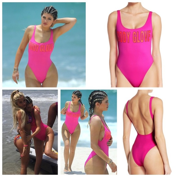 5a75a4e29f8 KYLIE Body Glove 1989 The Look One-Piece Swimsuit