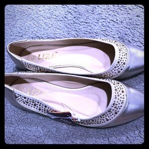 Shoes - Liza stylish comfortable crystals flats size 41 eu