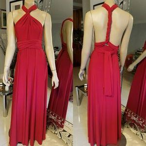 🆕Convertible maxi dress