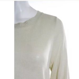 HOTEL PARTICULIER Tops - NWT HOTEL PARTICULIER. LONG SLEEVE LACE TOP SZ SM d6655d73503