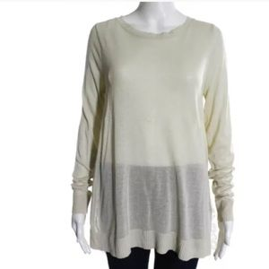 HOTEL PARTICULIER Tops - NWT HOTEL PARTICULIER. LONG SLEEVE LACE TOP SZ SM