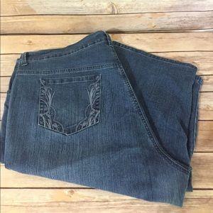 Gloria Vanderbilt Pants - Gloria Vanderbilt Denim skimmer shorts 22W