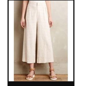 Anthropologie Pants - Anthropologie culottes white 4