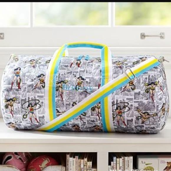 NWT Pottery Barn Wonder Woman Bag. M 592c2a147fab3a9e2e003718 c75efa8e93da1