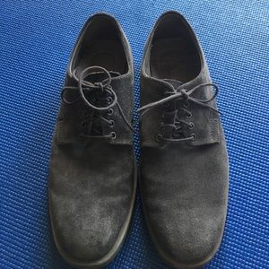 Calvin Klein Other - Men's Gray Suede Oxfords
