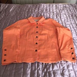 Ami Jackets & Blazers - Large orange cute jacket