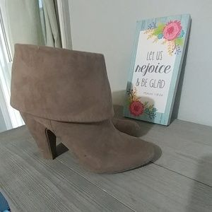 Pink & Pepper Shoes - Pink & Pepper High Heel Ankle Booties-8