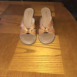 "Great condition 3 1/2"" wedge sandals - Naturalizer"