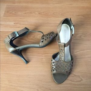 Franco Sarto Leather Sandals