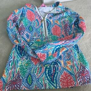 Lilly Pulitzer popover size small in Let Minnow