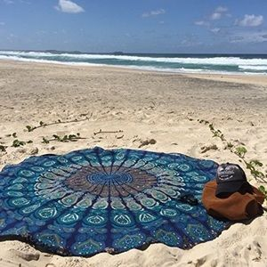 Other - 🌴Bohemian beach roundie🌴