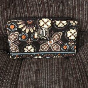 Vera Bradley Handbags - Vera Bradley Turnlock Wallet