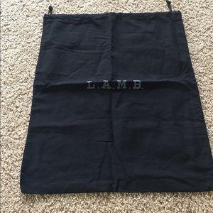L.A.M.B. Other - LAMB dust bag