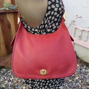 Coach Handbags - Coach Vintage legacy flap saddle bag.