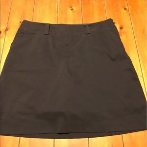 Nike Golf Dri-Fit black skirt. Size 12