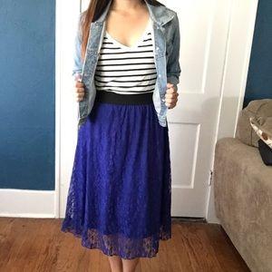 LuLaRoe Dresses & Skirts - Adorable Lularoe skirt outfit!