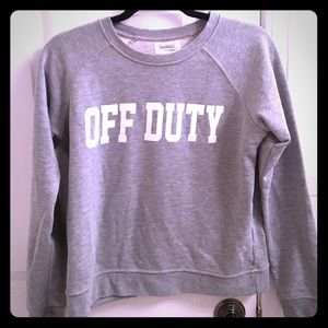Sincerely Jules Tops - Sincerely Jules Off Duty Sweatshirt