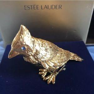 Estée Lauder Pleasures Solid Perfume GOLDEN BIRD