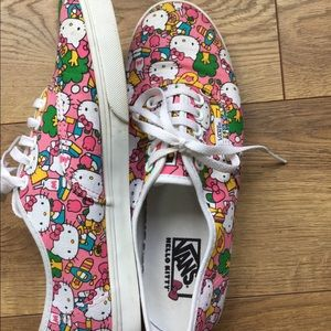 Limited Edition Hello Kitty Classic Vans Sneakers