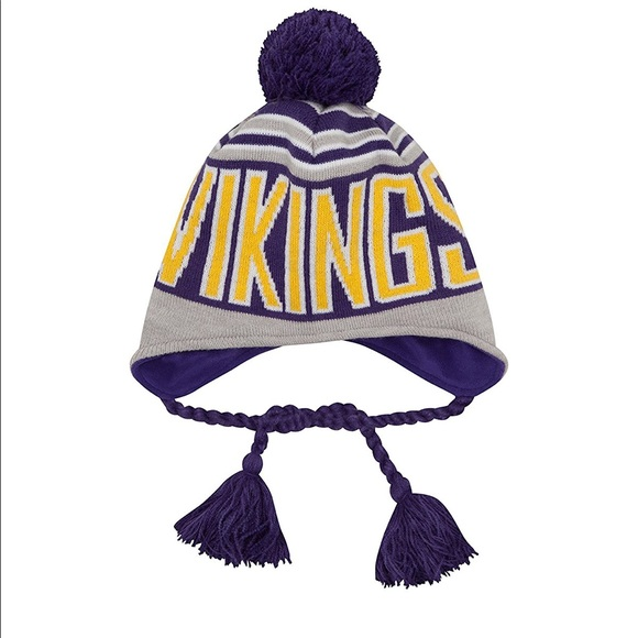 Minnesota Vikings New Era Peruvian Knit Hat 1ef9c7e1f36