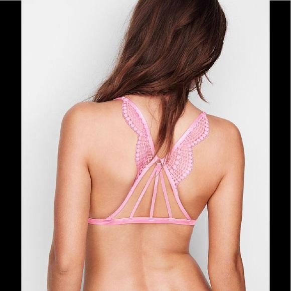 3abfb19aadbc3 Victoria s Secret STRAPPY-BACK TRIANGLE BRALETTE