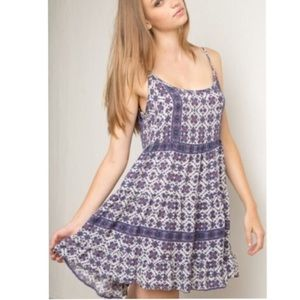 Brandy Melvile Purple Jada Dress