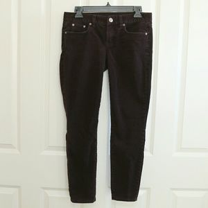 J. Crew Pants - ⬇PRICE! J.Crew Dark Purple Skinny Cords