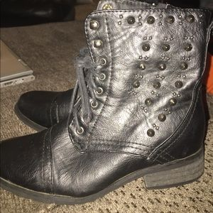 Shoes - Black boots size  5 never worn!