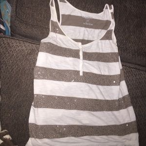 Tops - Old navy striped tank top