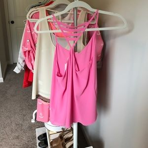 Tops - Pink Tank top (new with tags)