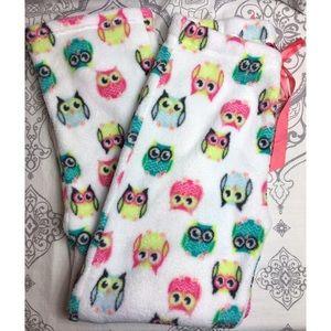 Other - Fuzzy Owl Sleep Lounge Pants