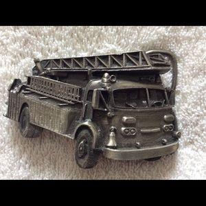 Other - Fire truck belt buckle