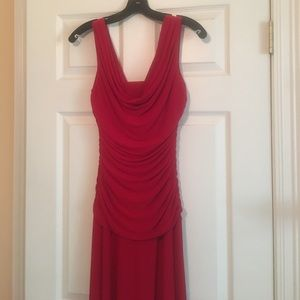 Nightway Dresses & Skirts - New, Never Worn! Red floor length dress SZ4