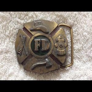 Other - FD emblem belt buckle