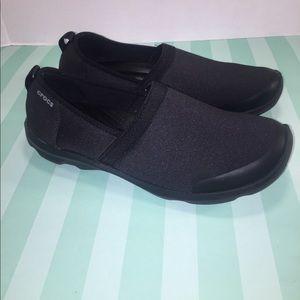 CROCS Shoes - CROCS Black Slip On Shoes