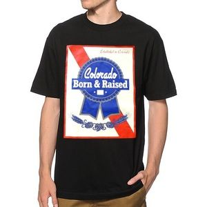 State of Mind Other - State of Mind Colorado Born & Raised Beer T-shirt