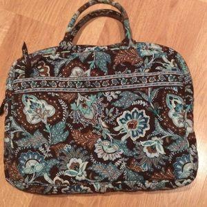 Vera Bradley Java Blue Laptop Bag